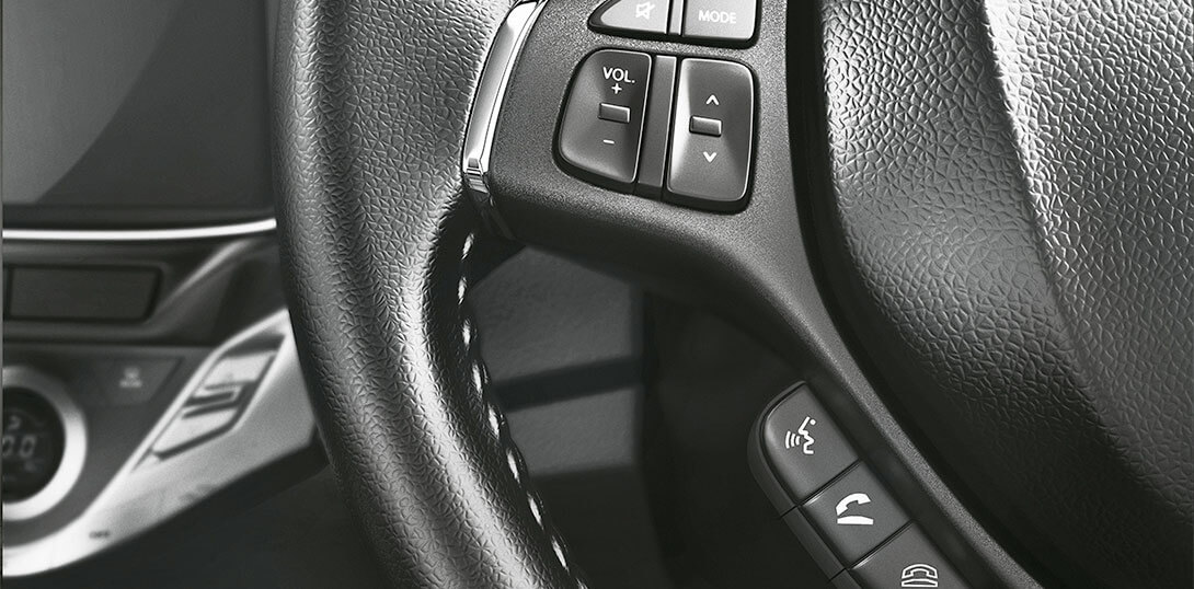 Baleno RS - Calls & Music on Steering
