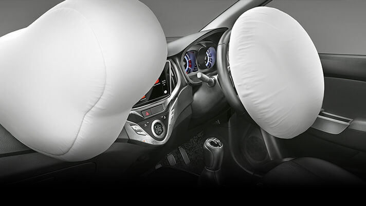 Baleno safety airbag features