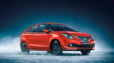 Baleno RS Wallpaper - Front View